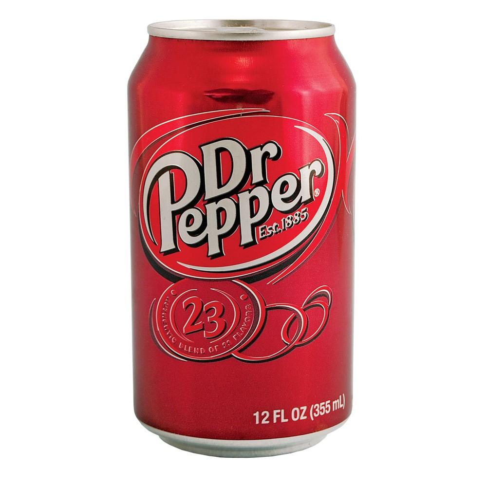 Dr Pepper : une boisson gazeuse au goût de cerise