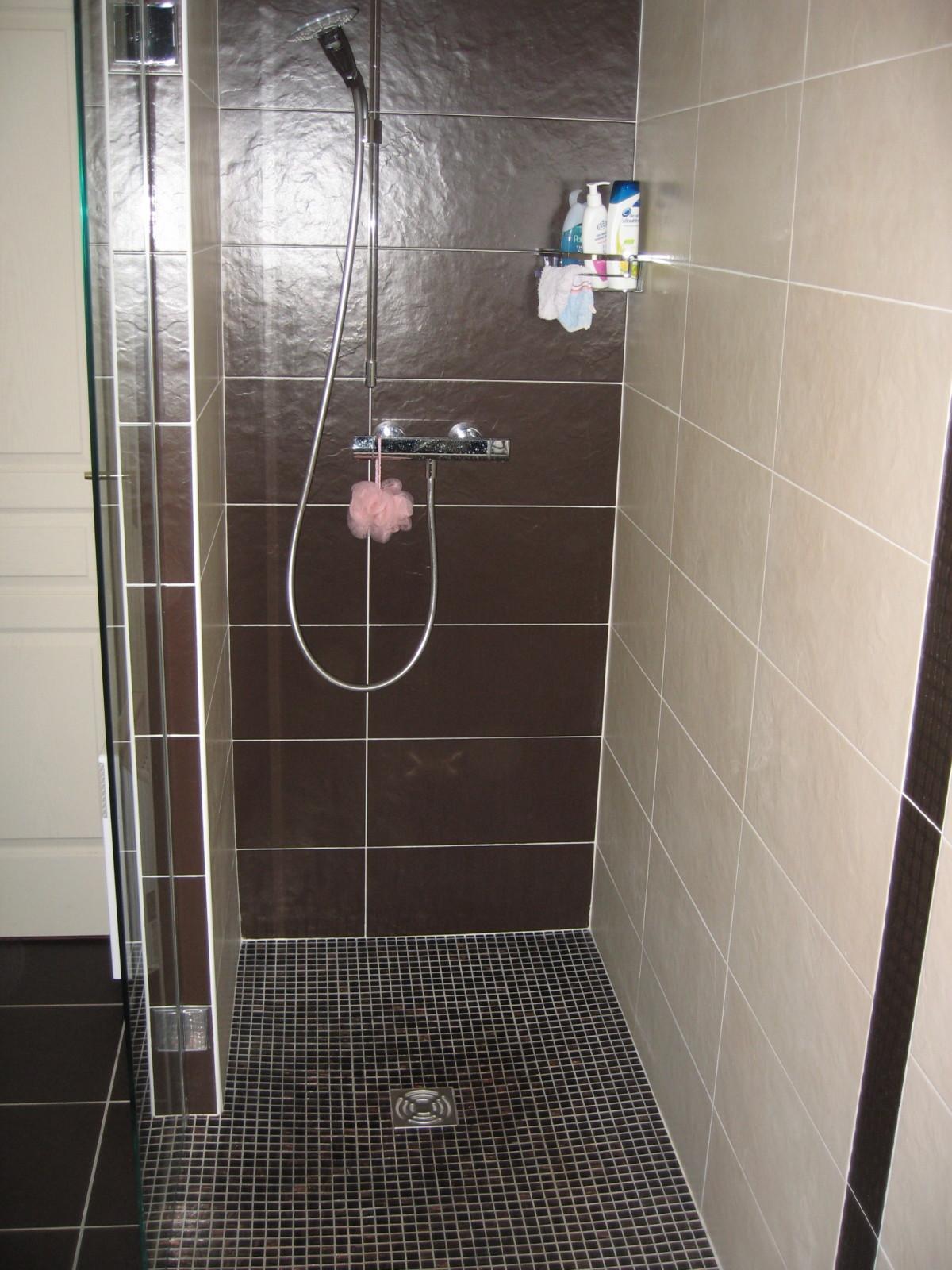 accessoires douche italienne