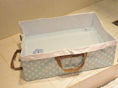 baignoire bébé pour douche italienne