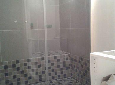 douche à l italienne avec marche