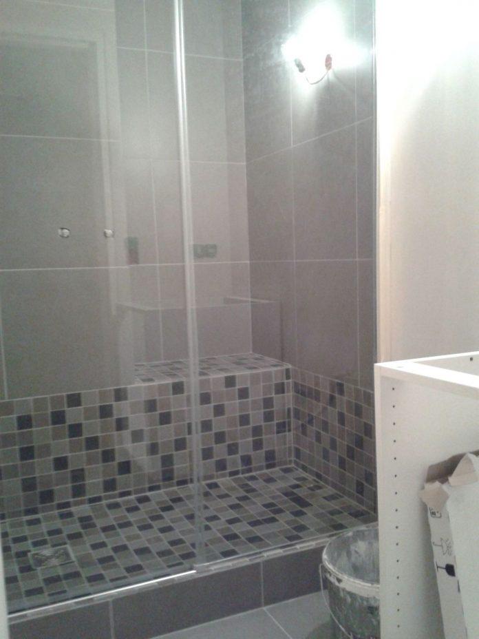 douche italienne avec marche