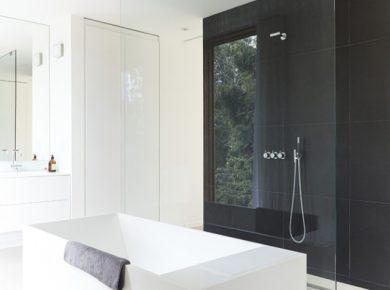 douche italienne blanche