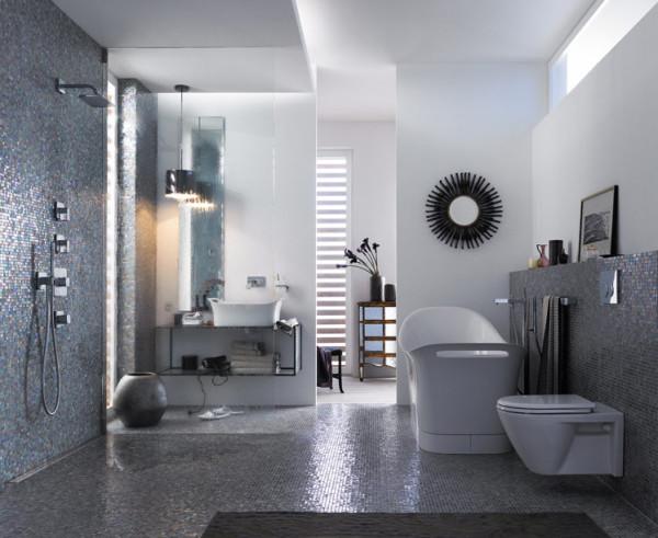 douche italienne de luxe