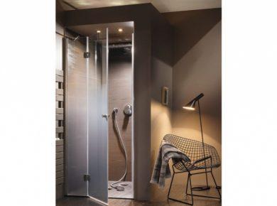 douche italienne fermée