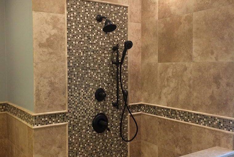 douche italienne pierre naturelle