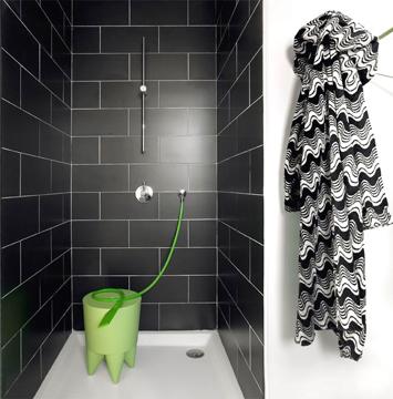 douche sans paroi