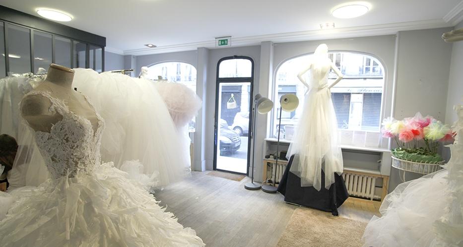 boutique robe de mariée paris