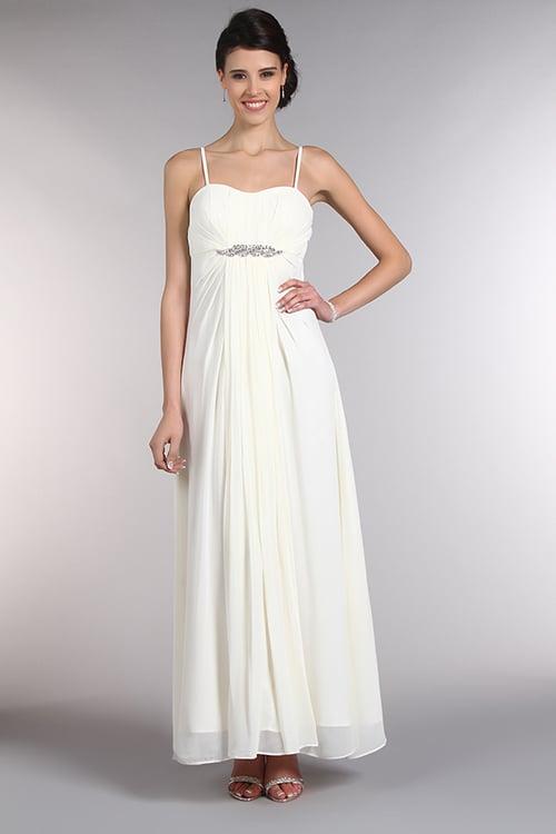 longue robe blanche