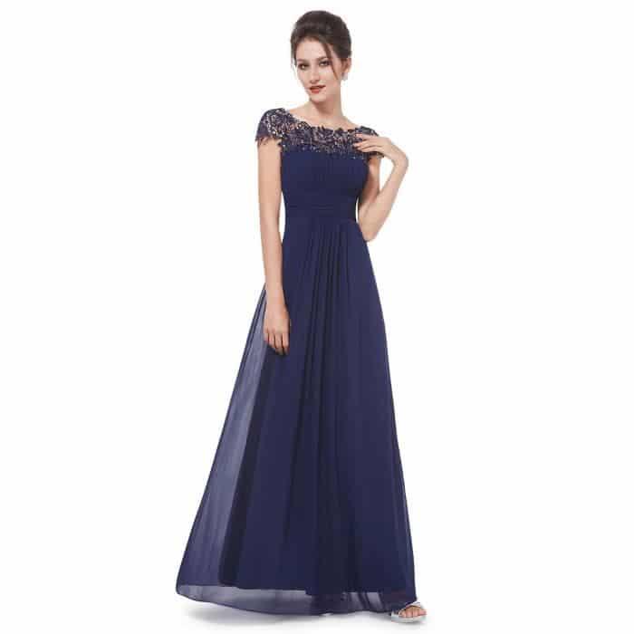longue robe de soirée pas cher