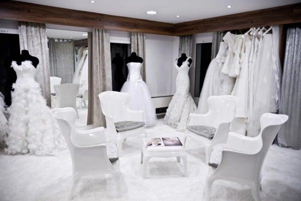 magasin de robe de mariée
