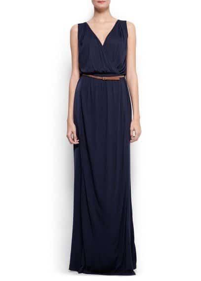 mango robe longue