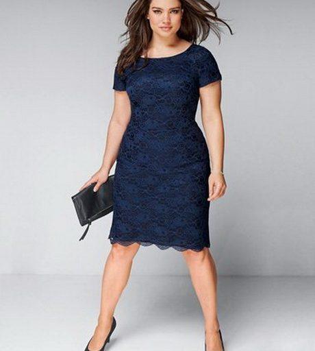 robe cocktail femme ronde