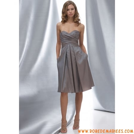 robe cocktail mi longue