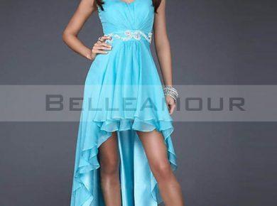 robe courte devant longue derriere