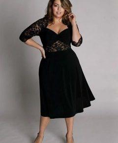 robe de cocktail grande taille pas cher
