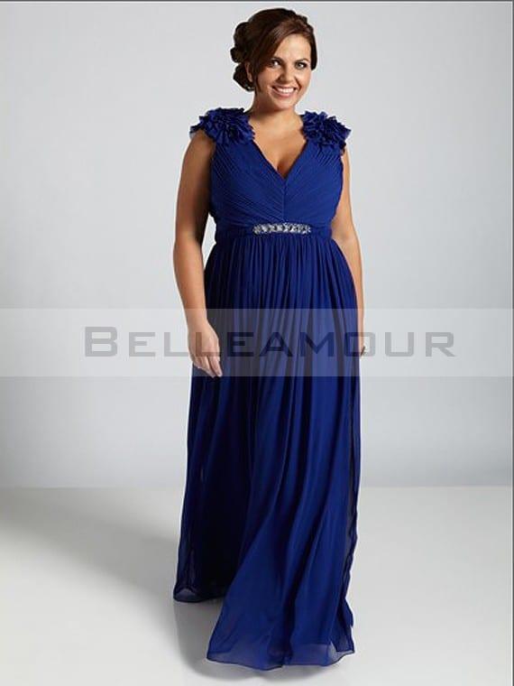robe de cocktail grande taille pour mariage