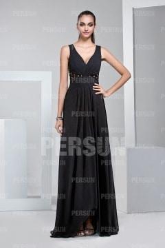 robe de cocktail noire