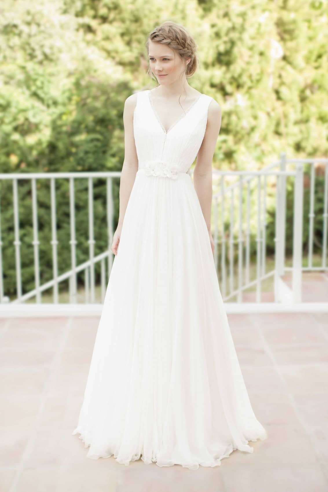 robe de mariée bohème chic