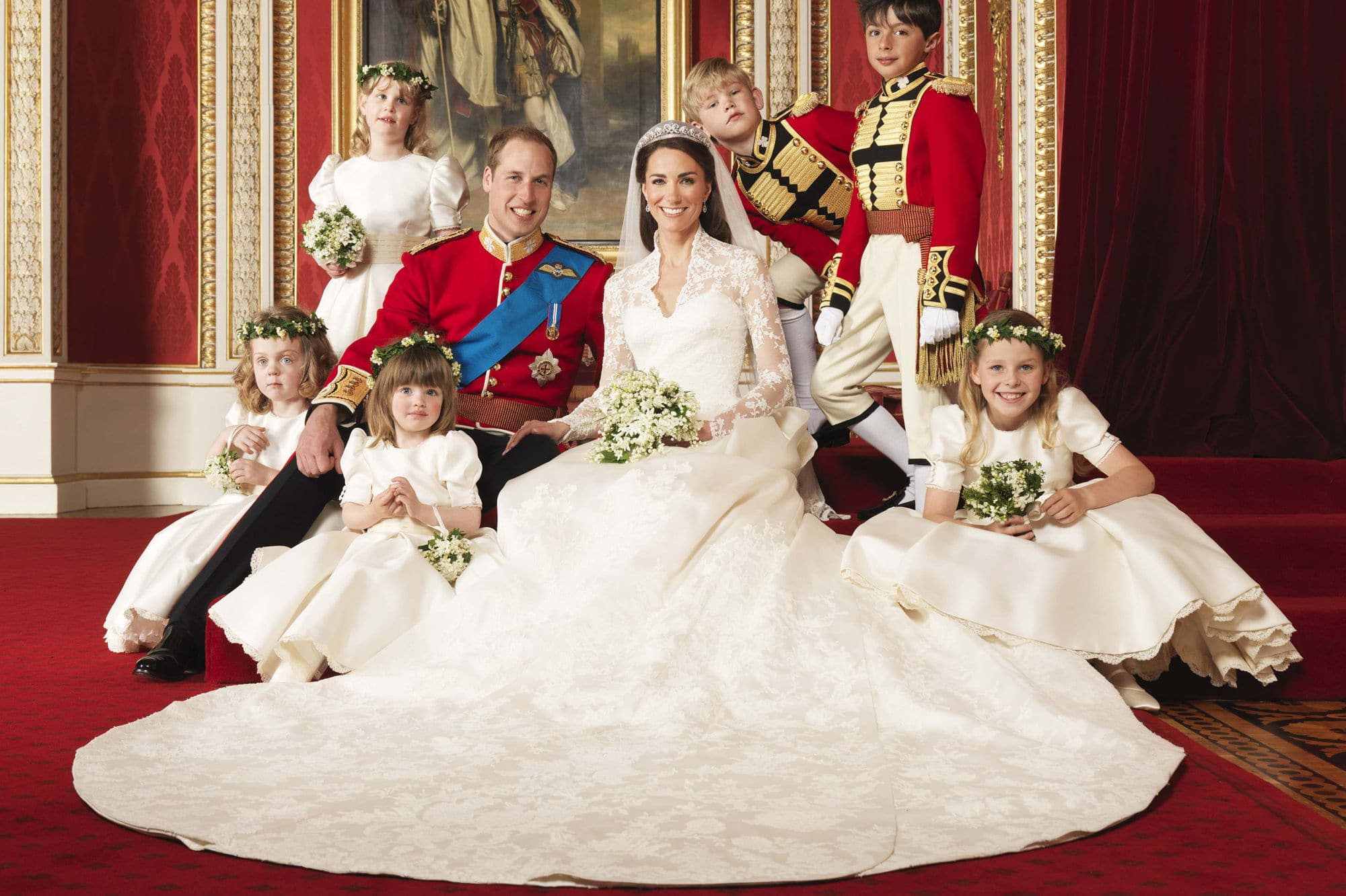 robe de mariée kate middleton