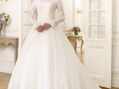 robe de mariée manche longue