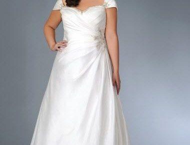 robe de mariée pour femme ronde