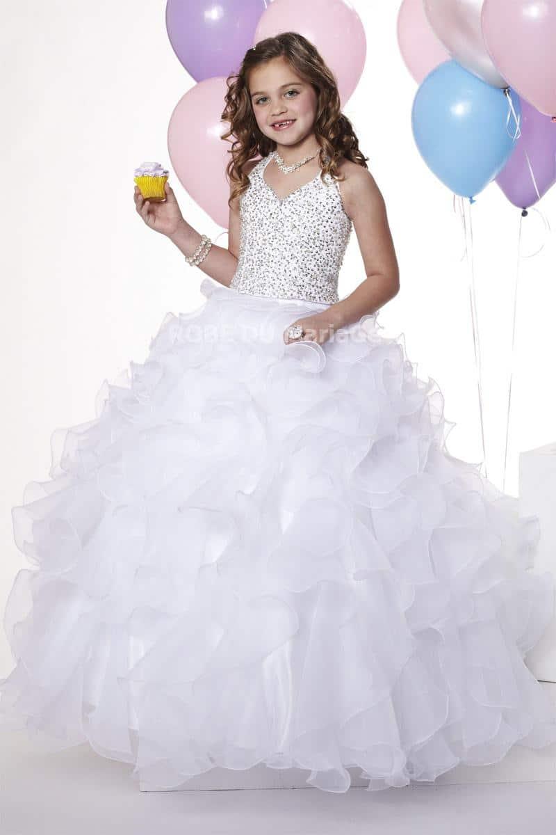 robe de mariée pour petite fille