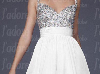robe de soirée courte pas cher