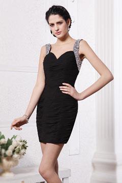 robe de soirée courte