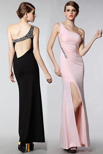 robe de soirée dos nu