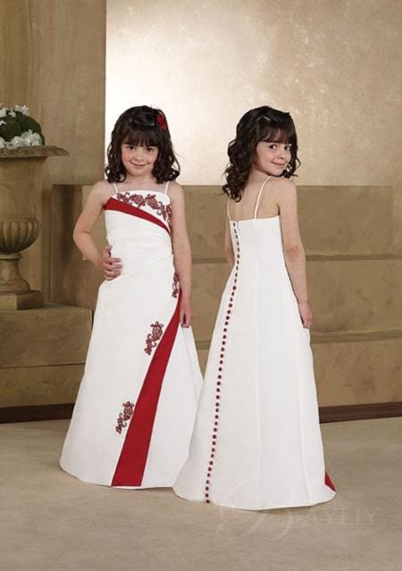 robe de soirée enfant