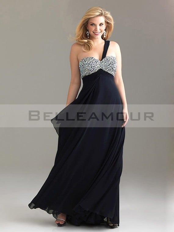 robe de soirée grande taille pas cher