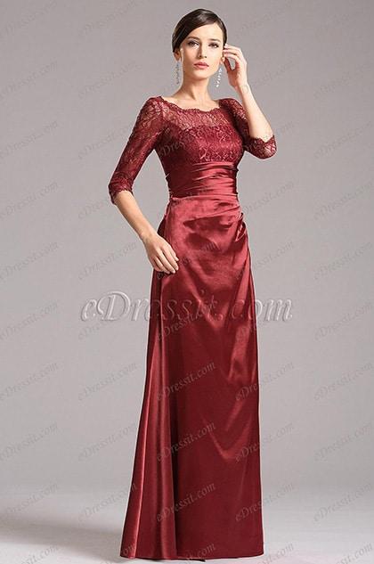 robe de soirée longue pour mariage