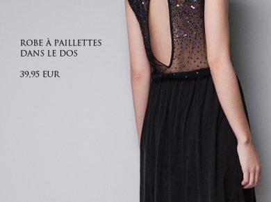 robe de soirée zara
