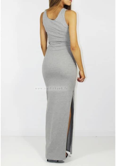 robe debardeur longue