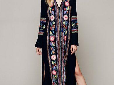 robe longue boheme