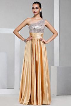 robe longue de cocktail