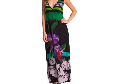 robe longue desigual