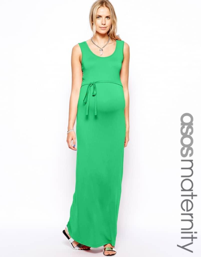 robe longue femme enceinte