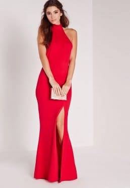 robe longue fendue
