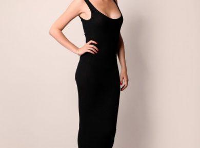 robe longue moulante