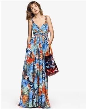 robe longue plage