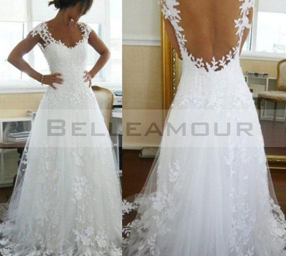 robe mariée dos nu