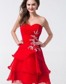 robe rouge cocktail