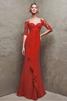 robe soirée rouge