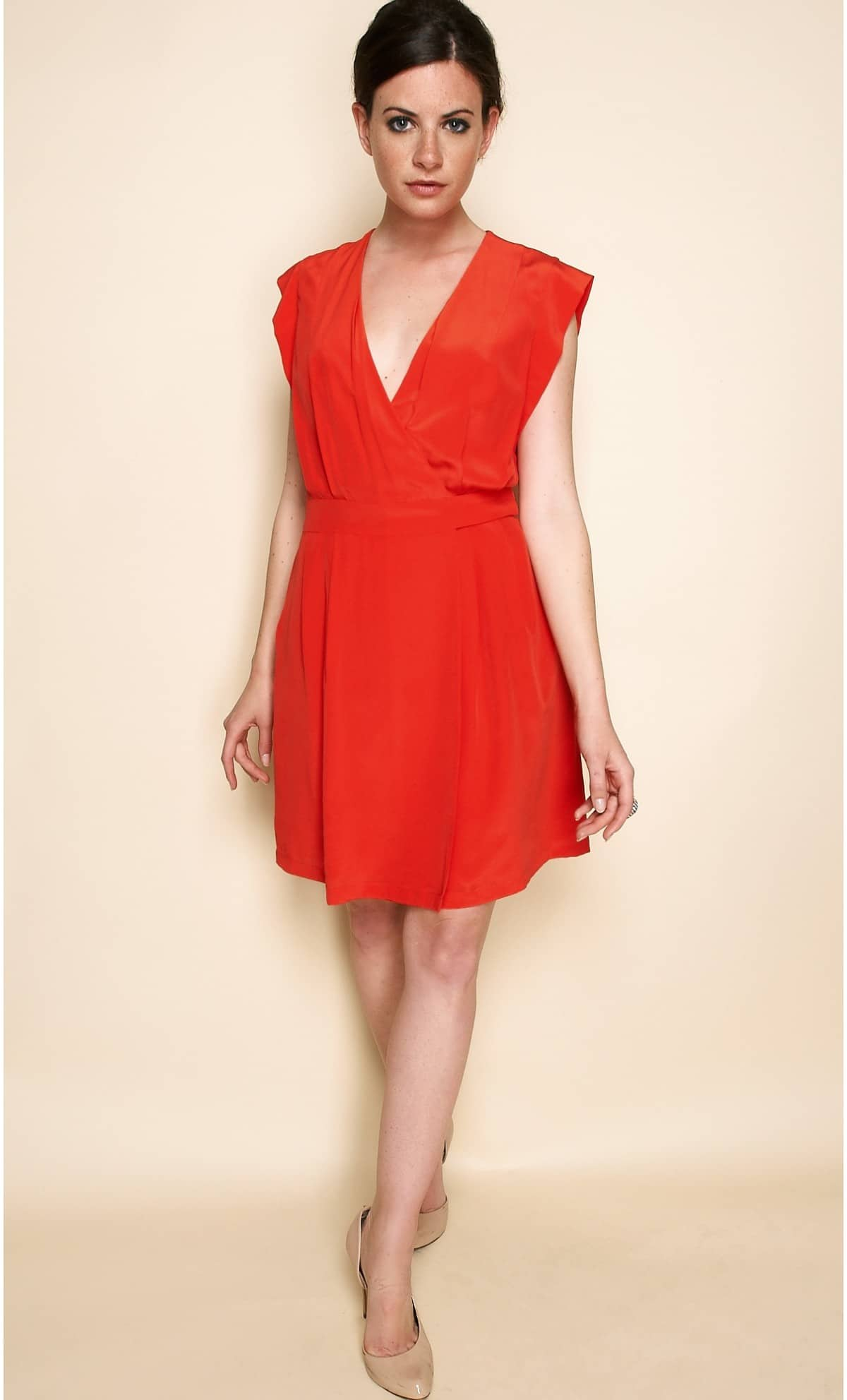 Etre la plus belle en robe corail